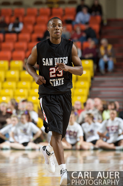 November 27, 2008: San Diego State guard D.J. Gay (23) in the final game in the opening round of the 2008 Great Alaska Shootout at the Sullivan Arena