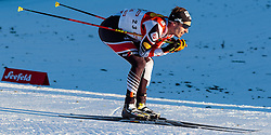 27.01.2017, Casino Arena, Seefeld, AUT, FIS Weltcup Nordische Kombination, Seefeld Triple, Langlauf, im Bild Lukas Klapfer (AUT) // Lukas Klapfer of Austria during Cross Country 5 km Gundersen Race of the FIS Nordic Combined World Cup Seefeld Triple at the Casino Arena in Seefeld, Austria on 2017/01/27. EXPA Pictures © 2017, PhotoCredit: EXPA/ JFK