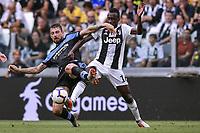 Francesco Acerbi Lazio Blaise Matuidi Juventus <br /> Torino 25-08-2018 Allianz Stadium Football Calcio Serie A 2018/2019 Juventus - Lazio Foto OnePlusNine / Insidefoto