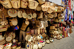 Stalls in the narrow streets of the medina, Essaouira, Morocco<br /> <br /> (c) Andrew Wilson | Edinburgh Elite media
