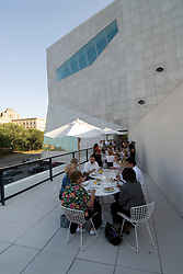 Minnesota, Twin Cities, Minneapolis-Saint Paul:  Wolfgang Puck's restaurant 20-21 at Walker Art Center, major cultural institution in Minneapolis..Photo mnqual222-74984..Photo copyright Lee Foster, www.fostertravel.com, 510-549-2202, lee@fostertravel.com.