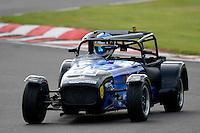 #63 Martin Emkes Caterham Tracksport during the Avon Tyres Caterham Tracksport Championship at Oulton Park, Little Budworth, Cheshire, United Kingdom. August 13 2016. World Copyright Peter Taylor/PSP.