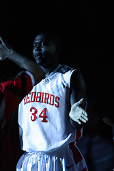 11 December 2010: Tony Lewis during an NCAA basketball game between the Illinois - Chicago Flames (UIC) and the Illinois State Redbirds (ISU) at Redbird Arena in Normal Illinois.