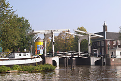 Magere Bridge is a landmark along Amsterdam's canals.