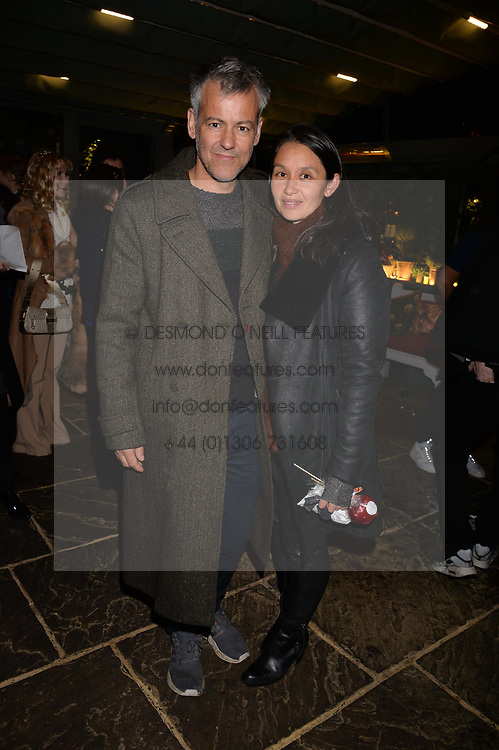 Rupert Graves and his wife Susie at The Ivy Chelsea Garden's Guy Fawkes Party, 197 King's Road, London, England. 05 November 2017.