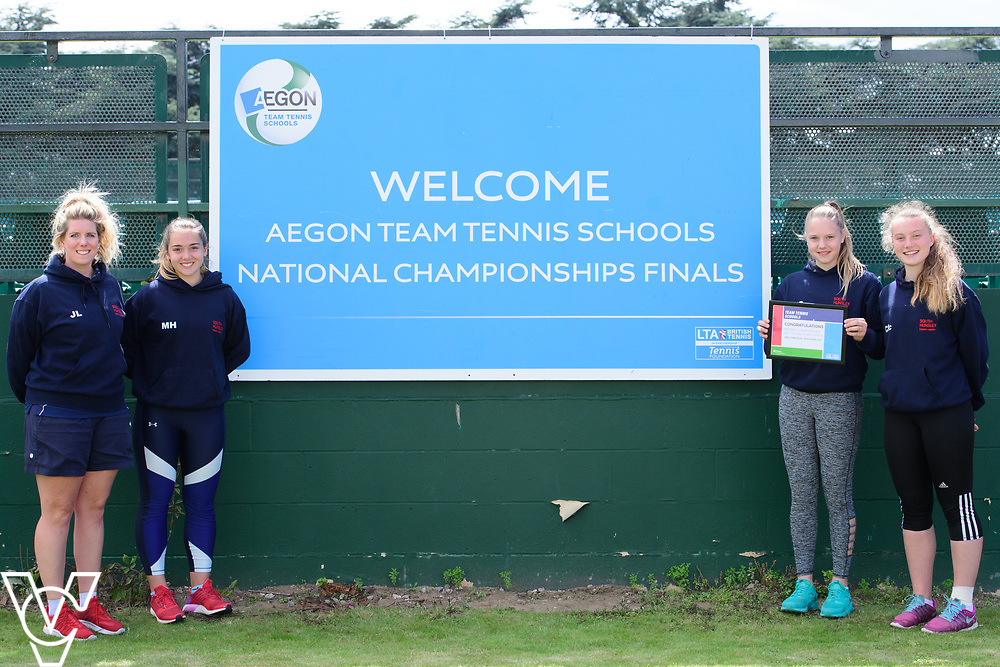 South Hunsley School<br /> <br /> Team Tennis Schools National Championships Finals 2017 held at Nottingham Tennis Centre.  <br /> <br /> Picture: Chris Vaughan Photography for the LTA<br /> Date: July 14, 2017