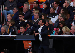 December 8, 2018 - Valencia, U.S. - VALENCIA, SPAIN - DECEMBER 08: Marcelino Garcia Toral, head coach of Valencia CF looks during to the La Liga game between Valencia CF and Sevilla FC on December 08, 2018, at Mestalla Stadium in Valencia, Spain. (Photo by Carlos Sanchez Martinez/Icon Sportswire) (Credit Image: © Carlos Sanchez Martinez/Icon SMI via ZUMA Press)