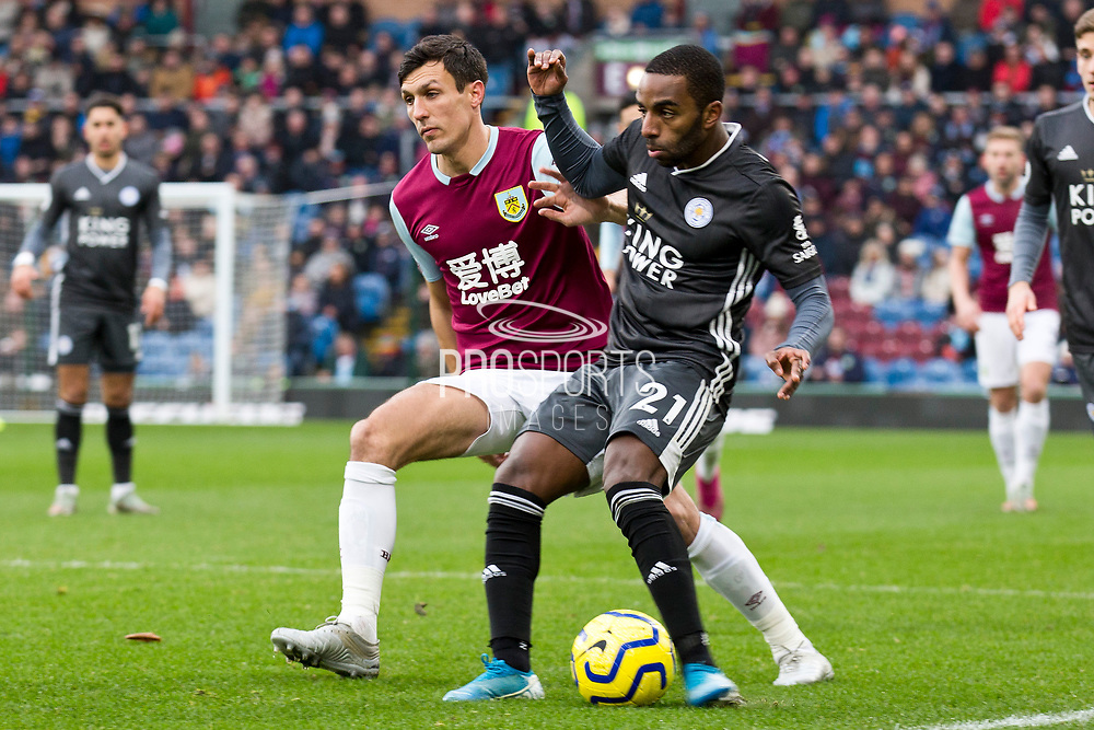 Leicester City defender Ricardo Pereira in action during the Premier League match between Burnley and Leicester City at Turf Moor, Burnley, England on 19 January 2020.