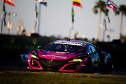 January 22-26, 2020. IMSA Weathertech Series. Rolex Daytona 24hr. #86 Meyer Shank Racing w/Curb-Agajanian, Acura NSX GT3, GTD:)Mario Farnbacher, Matt McMurry, Shinya Michimi, Jules Gounon