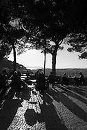 Portugal. Lisbon. mirador de Graca district / le quartier de Graca . Lisbonne