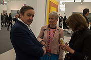 GREGOR MUIR, MARIA BALSHAW, Frieze opening day. Regent's Park. London. 2 October 2019