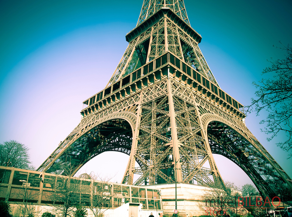 Eiffel Tower.<br /> Paris, France.