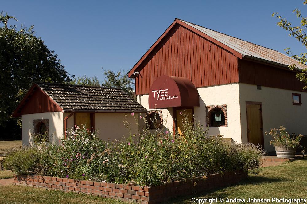 Tyee Winery tasting room near Corvalis, Oregon