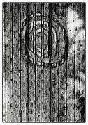 """Detail of a hand-drawn spiral in the grounds of the Pha Koeng Buddhist temple, Chaiyaphum Province, Northeast Thailand, 2011. From the series: Pha Koeng"""" (2011-2017)."""
