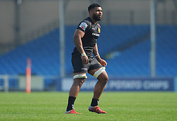 Onehunga Havili of Exeter Braves-Mandatory by-line: Nizaam Jones/JMP - 22/04/2019 - RUGBY - Sandy Park Stadium - Exeter, England - Exeter Braves v Saracens Storm - Premiership Rugby Shield