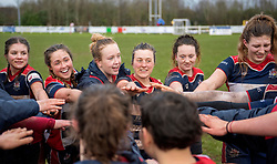 Post match huddle - Mandatory by-line: Paul Knight/JMP - 03/02/2018 - RUGBY - Cleve RFC - Bristol, England - Bristol Ladies v Harlequins Ladies - Tyrrells Premier 15s