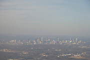 view of Atlanta Georgia seen from an airplane