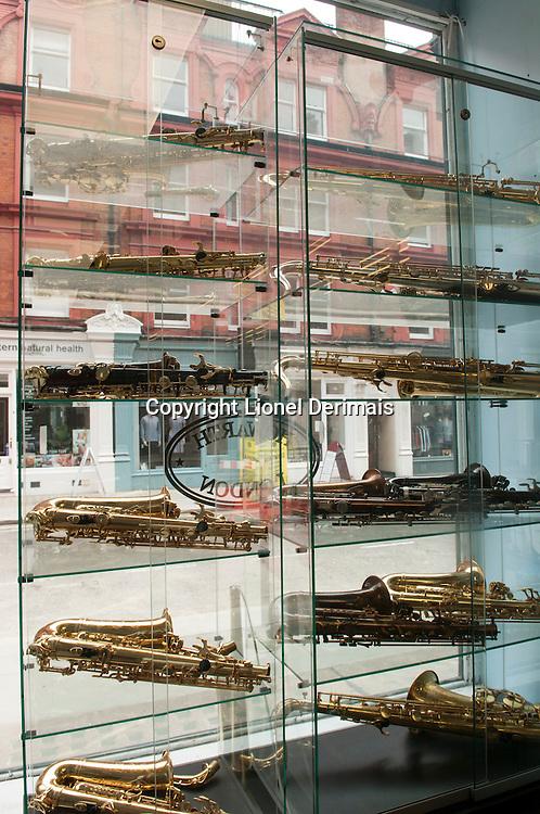Howarth of London window.