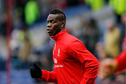 Mario Balotelli of Liverpool warms up - Photo mandatory by-line: Rogan Thomson/JMP - 07966 386802 - 26/12/2014 - SPORT - FOOTBALL - Burnley, England - Turf Moor Stadium - Burnley v Liverpool - Boxing Day Christmas Football - Barclays Premier League.