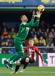 January 20, 2019 - Vila-Real, Castellon, Spain - Sergio Asenjo of Villarreal and Iker Muniain of Athletic Club de Bilbao during the La Liga Santander match between Villarreal and Athletic Club de Bilbao at La Ceramica Stadium on Jenuary 20, 2019 in Vila-real, Spain. (Credit Image: © AFP7 via ZUMA Wire)