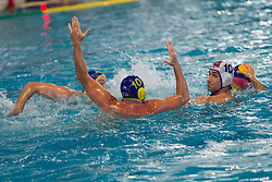 Cedomir Todic AVK Triglav Kranj during water polo match between ASD Vaterpolo Koper and AVK Triglav Kranj in 4rd Round of Final of Slovenian Water polo National Championship, on June 23, 2012 in Olympic pool, Kranj, Slovenia. ASD Koper defeated Triglav Kranj 9-8. (Photo By Grega Valancic / Sportida.com)