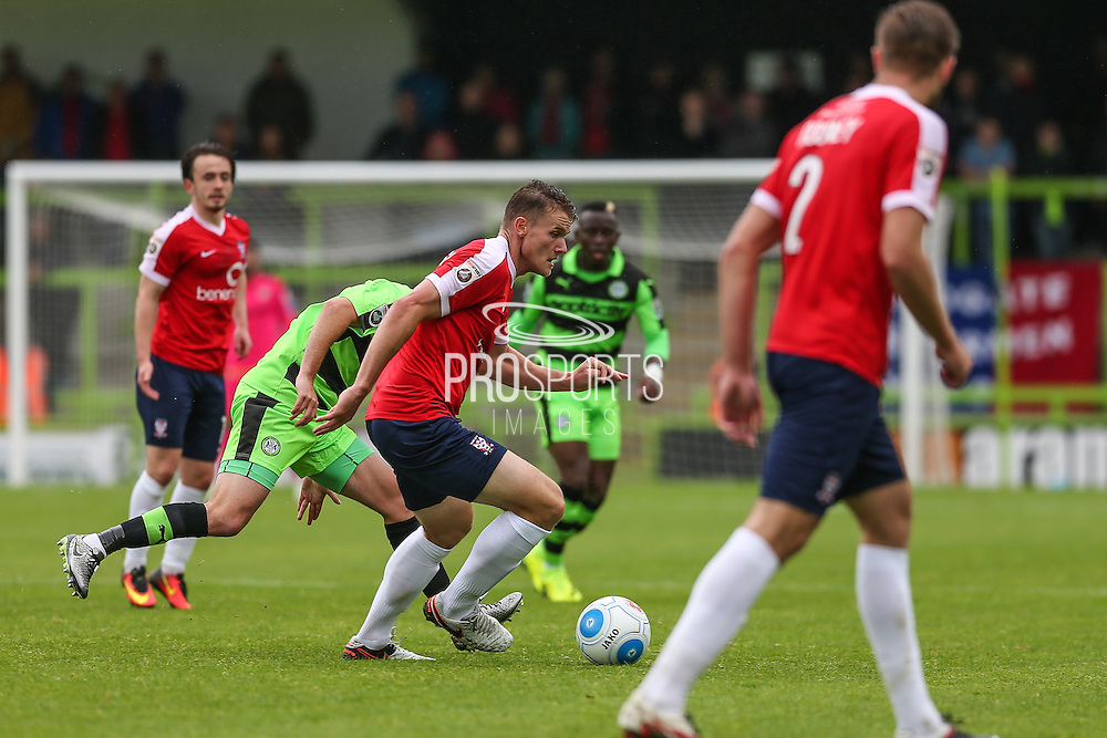 York City's Yan Klukowski(10)  during the Vanarama National League match between Forest Green Rovers and York City at the New Lawn, Forest Green, United Kingdom on 20 August 2016. Photo by Shane Healey.