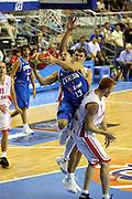 ALICANTE 05 SETTEMBRE 2007<br /> BASKET EUROPEI<br /> POLONIA-ITALIA<br /> NELLA FOTO DI BELLA<br /> FOTO CIAMILLO-CASTORIA