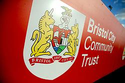Bristol City Womens club crest - Mandatory by-line: Nizaam Jones/JMP - 27/01/2019 - FOOTBALL - Stoke Gifford Stadium - Bristol, England - Bristol City Women v Yeovil Town Ladies- FA Women's Super League 1