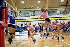 Women's Volleyball vs Fontbonne 2014