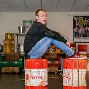 NLD/Amsterdam/20180110 - Perspresentatie The Full Monty, Kick Spijkerman