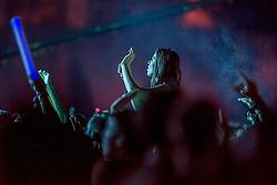22.08.2015, Schwarzl See, Unterpremstätten bei Graz, AUT, Lake Festival 2015, Tag vier, im Bild eine Besucherin // a female spectator during the Lake Festival 2015, 4th day, Schwarzl See, Unterpremstätten Graz, Austria on 2015/08/22, EXPA Pictures © 2015, PhotoCredit: EXPA/ Erwin Scheriau