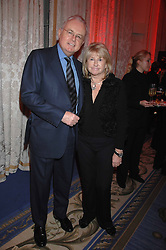 MARTIN LEWIS and PATSY BAKER at a party hosted by the Mandarin oriental Hyde park Hotel to celebrate the Chinese new year on 19th February 2007.<br />
