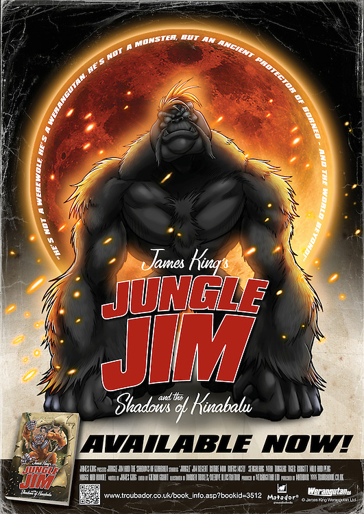 Jungle Jim and the Shadows of Kinabalu.<br />