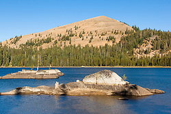 """White Rock Lake 3"" - Photograph of the Tahoe backcountry lake called White Rock Lake."