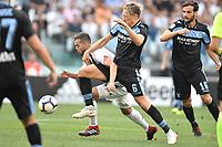 Miralem Pjanic Juventus Lucas Leiva Lazio <br /> Torino 25-08-2018 Allianz Stadium Football Calcio Serie A 2018/2019 Juventus - Lazio Foto Andrea Staccioli / Insidefoto