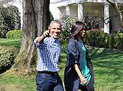 President Obama and Michelle Obama  Easter Egg Roll White House