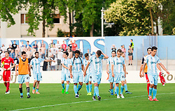 Players of Gorica after the 2nd Leg football match between ND Gorica and Maccabi Tel Aviv FC (ISR) in First Qualifying Round of UEFA Europa League 2016/17, on July 7, 2016 in Sports park Nova Gorica, Slovenia. Photo by Vid Ponikvar / Sportida