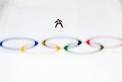 February 17, 2018 - Pyeongchang, SOUTH KOREA - 180217 Johann Andre Forfang of Norway in the men's large hill individual final during day eight of the 2018 Winter Olympics on February 17, 2018 in Pyeongchang..Photo: Carl Sandin / BILDBYRÃ…N / kod CS / 57999_303 (Credit Image: © Carl Sandin/Bildbyran via ZUMA Press)