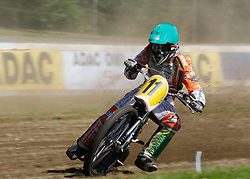 07.06.2015, Leineweberring, Bielefeld, GER, ADAC Motorrad Grasbahnrennen EM, Semifinale 2, im Bild 11 Zach Wajtknecht/GB // during the second Semifinal of ADAC Motorcycle GRASSTRACK European Championship at the Leineweberring in Bielefeld, Germany on 2015/06/07. EXPA Pictures © 2015, PhotoCredit: EXPA/ Eibner-Pressefoto/ Stiefel<br /> <br /> *****ATTENTION - OUT of GER*****