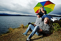 Jennifer, Josh and Christian Fredericks' family portrait session Saturday, Oct. 22, 2011 at Tubbs Hill in Coeur d'Alene, Idaho