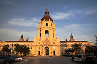 Pasadena City Hall at Sunset, Pasadena, California