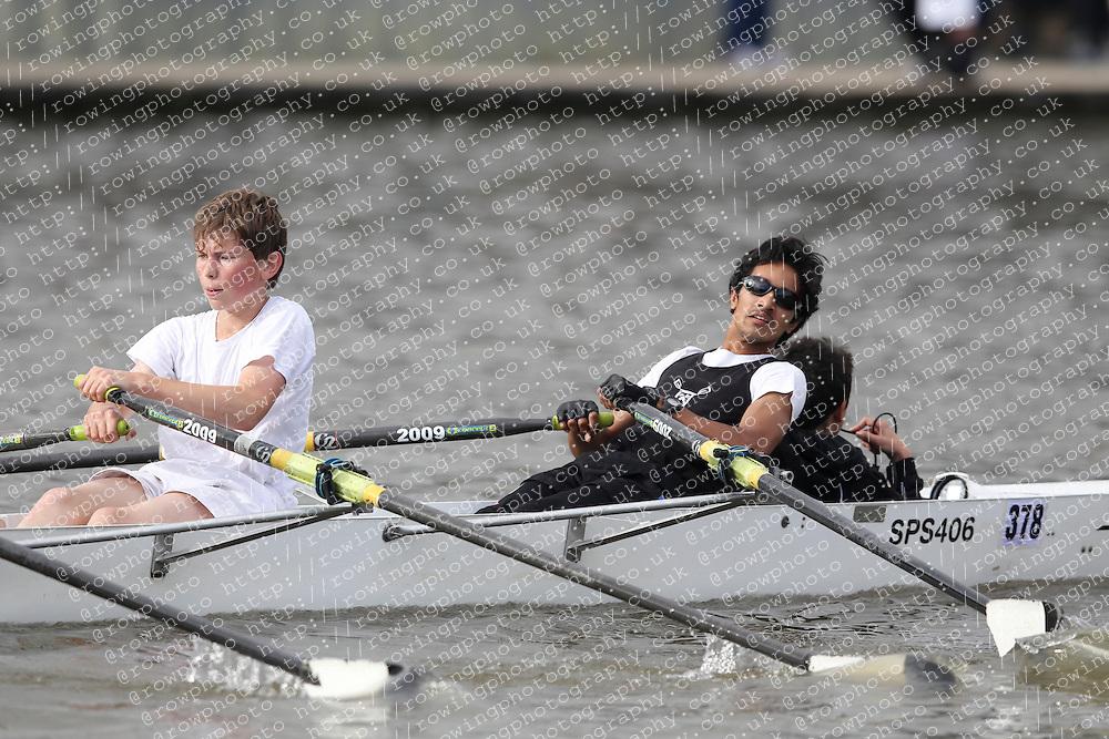 2012.09.29 Wallingford Long Distance Sculls 2012. Division 3. J15A 4x+. St Pauls School Boat Club.