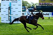 Irene May ridden by Tom Marquand and trained by Sylvester Kirk wins The Empire Fighting Chance Handicap Stakes - Mandatory by-line: Robbie Stephenson/JMP - 04/09/2019 - PR - Bath Racecourse - Bath, England - Bath Races