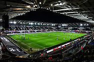 A general view of Liberty Stadium, home of Ospreys<br /> <br /> Photographer Craig Thomas/Replay Images<br /> <br /> Guinness PRO14 Round 18 - Ospreys v Leinster - Saturday 24th March 2018 - Liberty Stadium - Swansea<br /> <br /> World Copyright © Replay Images . All rights reserved. info@replayimages.co.uk - http://replayimages.co.uk