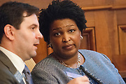 Georgia House Minority Leader Stacey Abrams