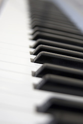 July 21, 2019 - Close Up Of Piano Keyboard (Credit Image: © John Short/Design Pics via ZUMA Wire)