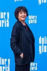 The actress Julieta Serrano attends the photocall of the movie 'Dolor y gloria' in Villa Magna Hotel, Madrid 12th March 2019. Photo by Alconada/Alterphotos/ABACAPRESS.COM