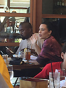 Exclusive<br /> Kim kardashian and kayne west out for lunch, Nobu in Malibu<br /> ©Exclusivepix Media