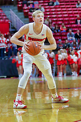 NORMAL, IL - November 03: Isaac Gassman during a college basketball game between the ISU Redbirds  and the Augustana Vikings on November 03 2018 at Redbird Arena in Normal, IL. (Photo by Alan Look)