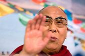 Dalai Lama brengt een driedaags bezoek aan Nederland